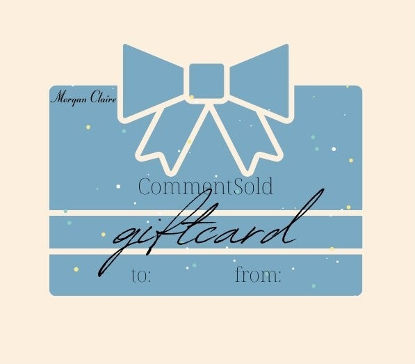 Morgan Claire Gift Card