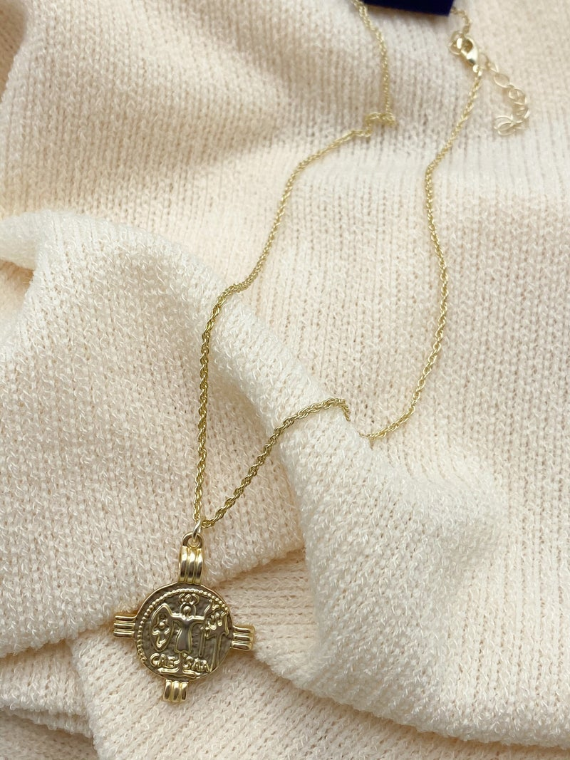 The Kendall Coin Necklace
