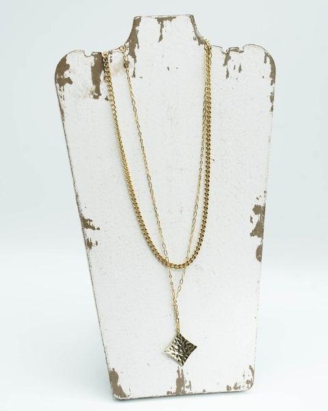 The Tonya Diamond Layered Necklace