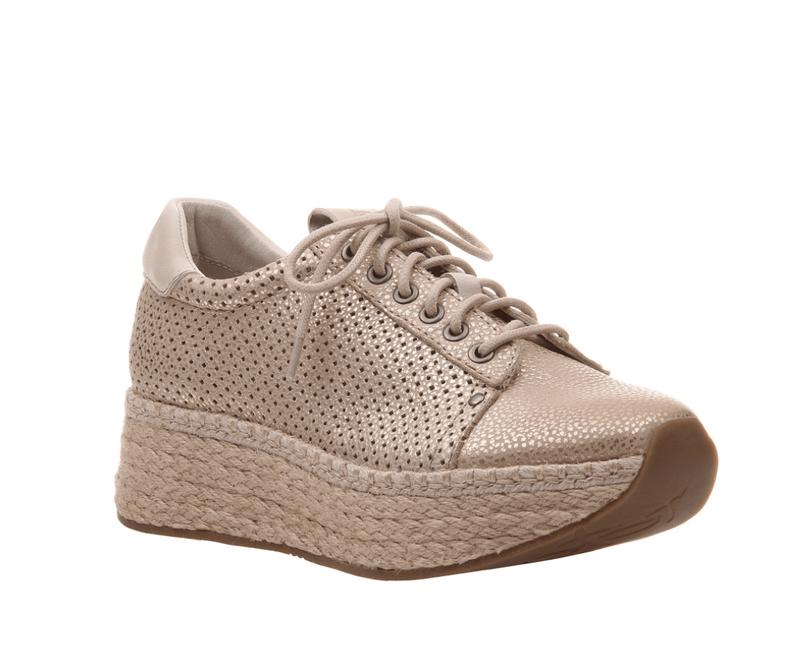Meridian Gold Sneaker