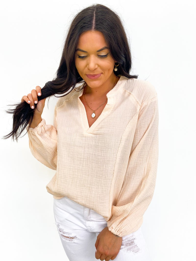 Everyday By The Bay Top - Blush