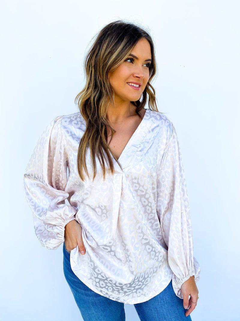 The Nixon Silk Blouse