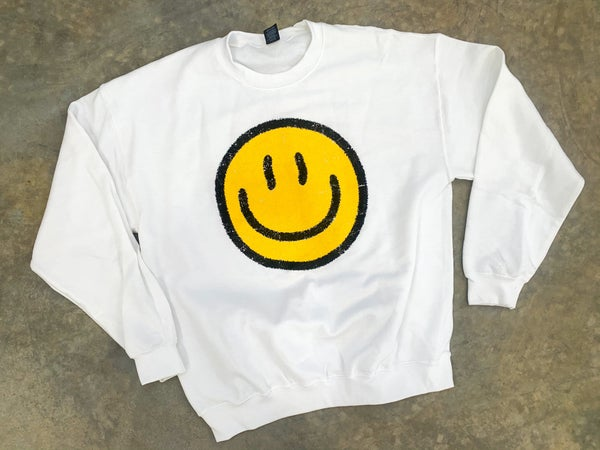 Something To Smile About Crewneck