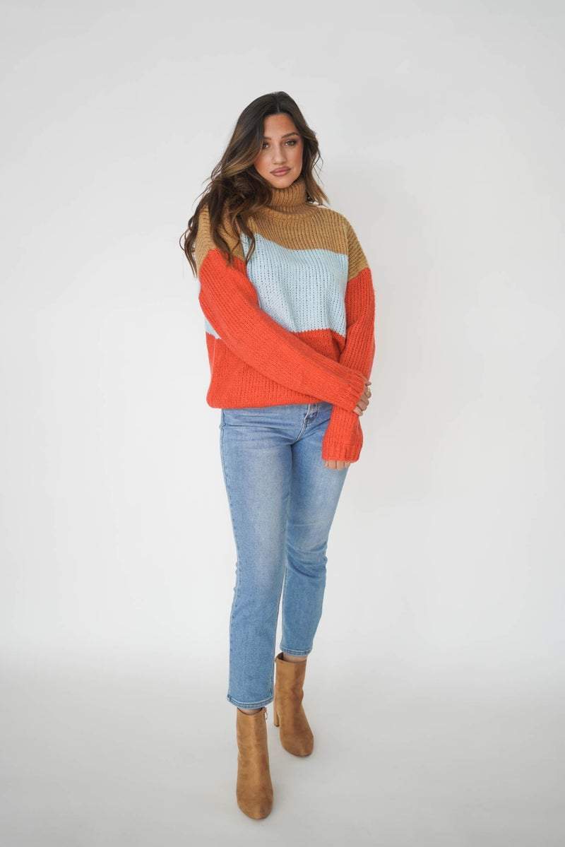 Bright Eyed Girl Sweater *Final Sale*