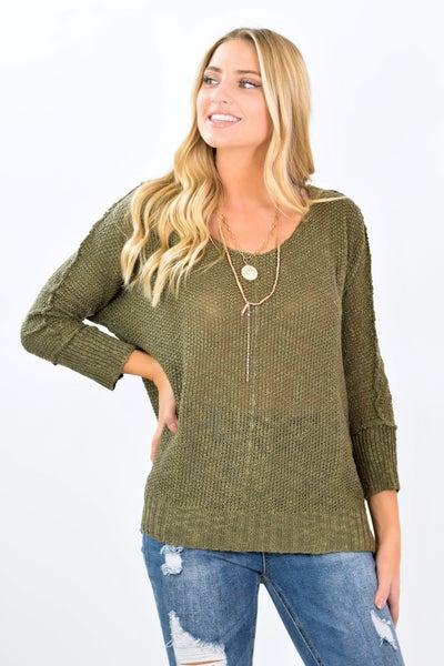 The Serena Round Neck Sweater