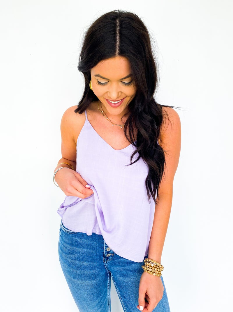 Light As A Summer Day Tank - Lilac