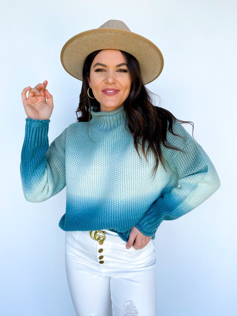 The Harlow Ombre Sweater
