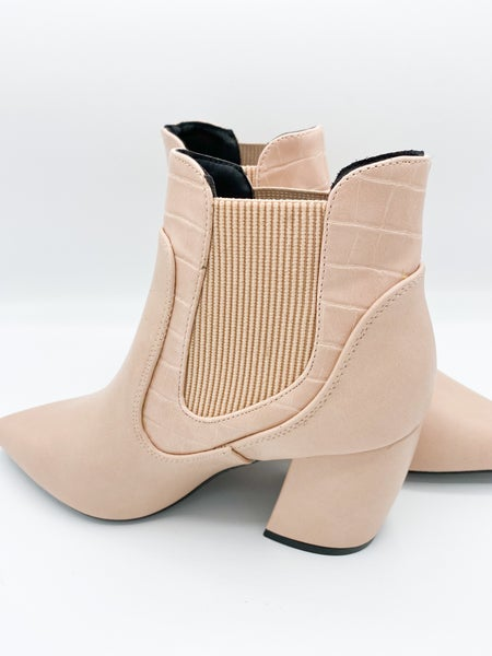 Not Your Barbie Blush Bootie