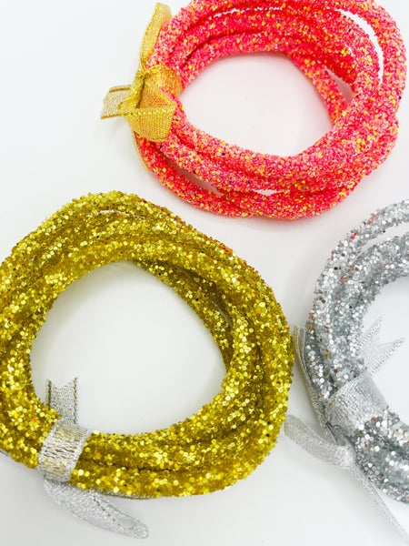 Glitter Bracca Bangle Set