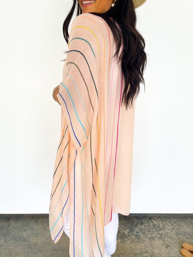 Feeling Peachy Kimono