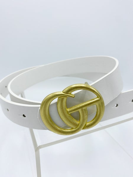 Designer Inspired GG Belt 3/4""