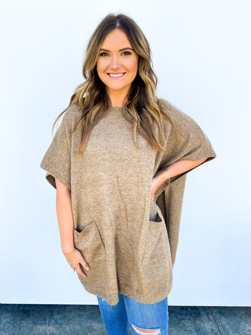 Once And For All Pocket Poncho