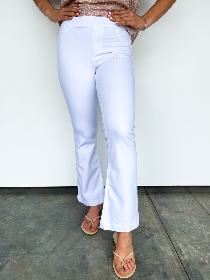 The Frannie Ankle Flare Jegging