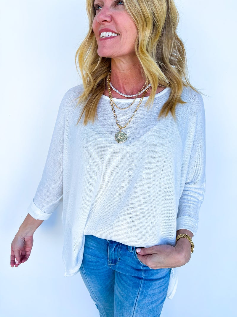 Briley Batwing Sleeve Sweater