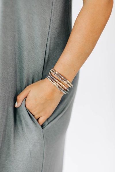 Wren Stackable Beaded Bracelets