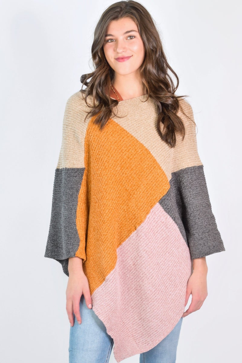 Pick Of The Patch Poncho *Final Sale*