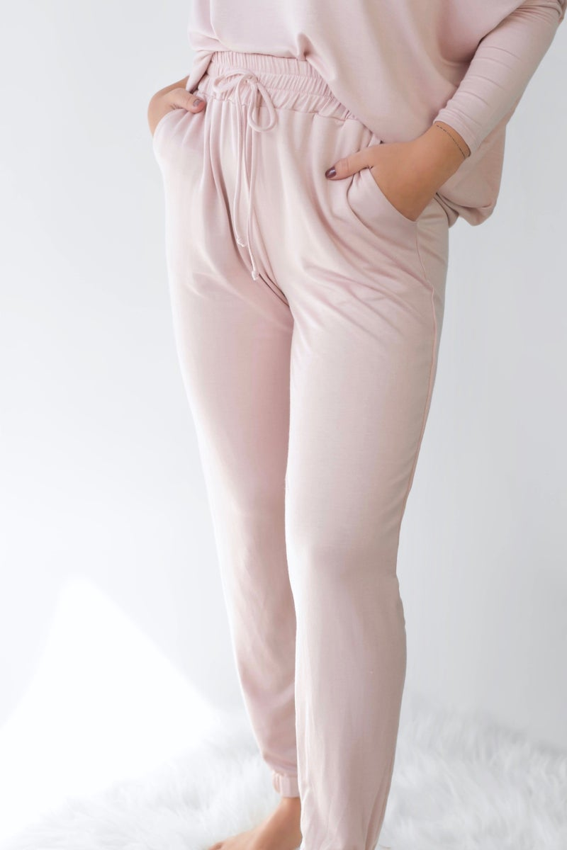 So Heavenly Blush Joggers *Final Sale*