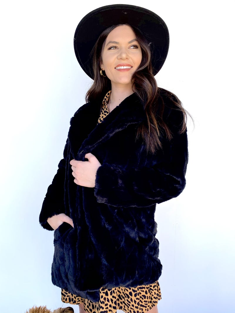 The Franny Fur Coat *Final Sale*