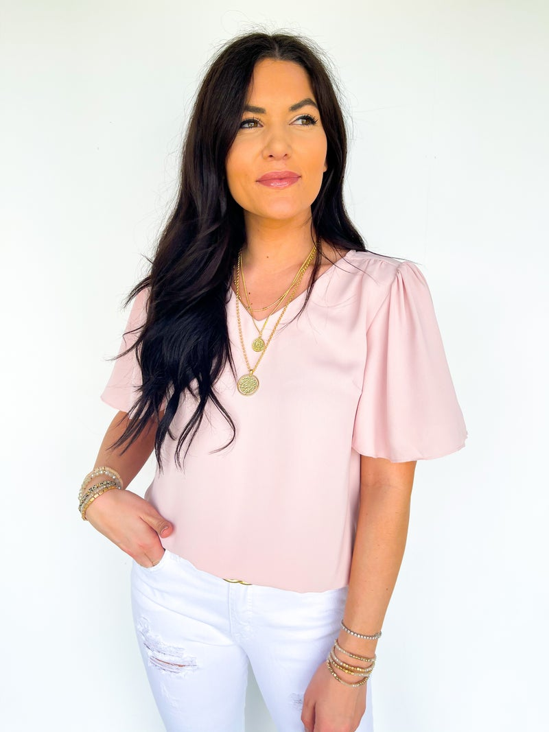Betsy Butterfly Top - Pink