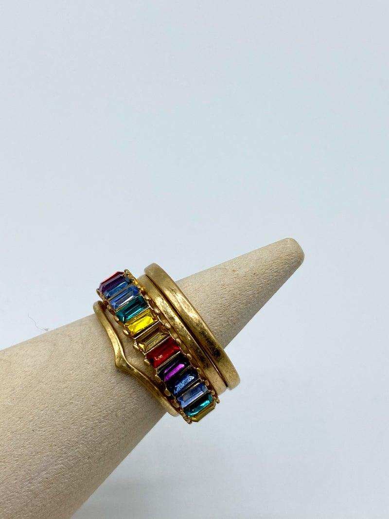 Rainbow Ring Stack