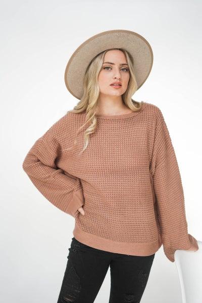 The Kelsei Wide Arm Sweater