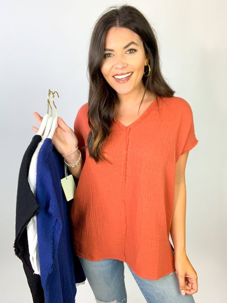The Macie Everyday Top *Final Sale*
