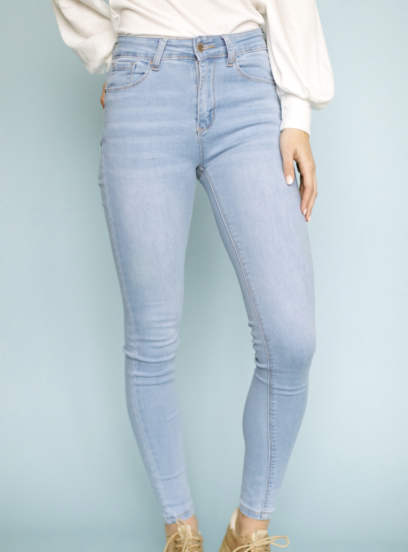 Stretch Ankle Skinny Jean