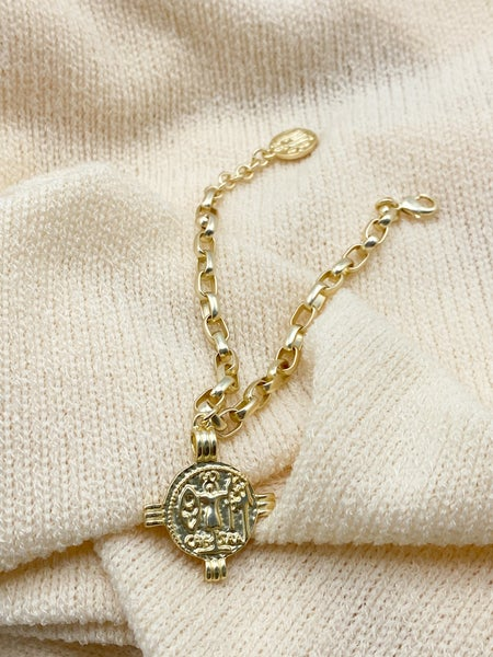The Kendall Coin Bracelet