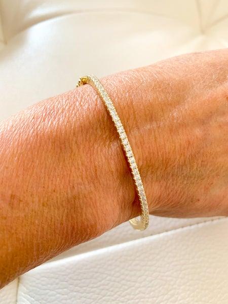 Gold Pave Bracelet