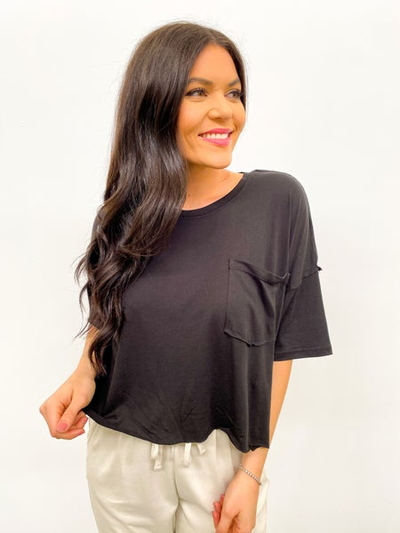 Perform Pocket Crop - Black