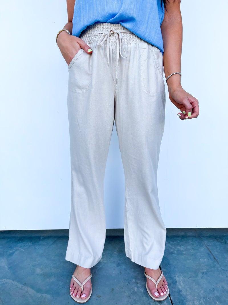 The Leslie Linen Pants