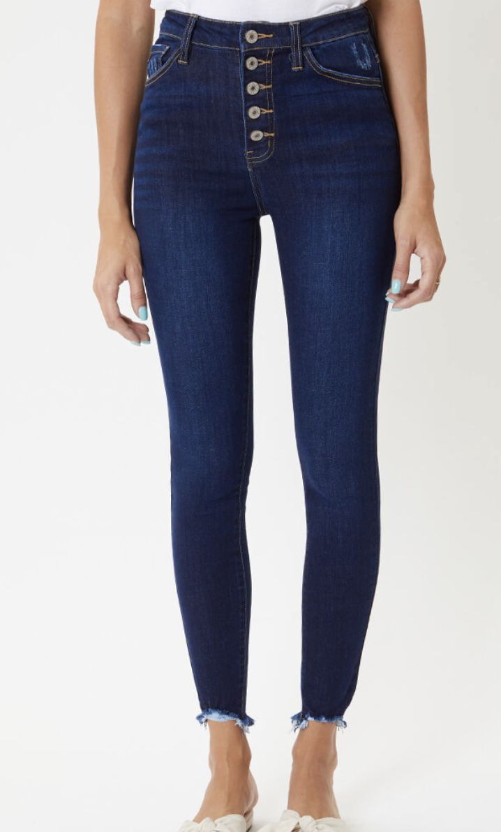 The Rosa High Rise Skinny Jean