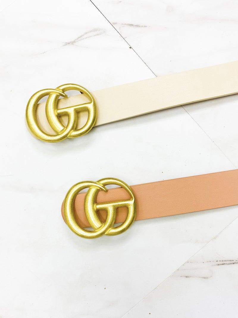 """Designer Inspired GG Belt 1"""""""