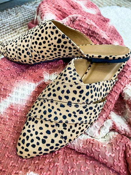 Nine To Five Spotted Slip On