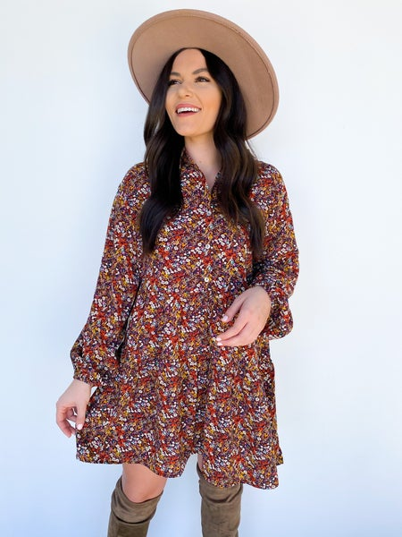 Something Borrowed Floral Dress