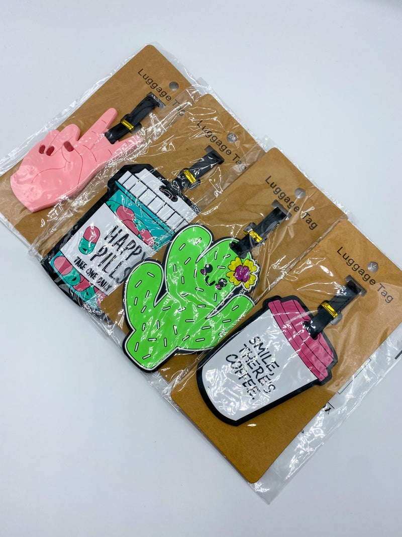 Rubber Luggage Tags
