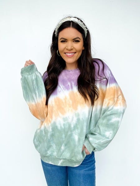 Good Times Tie Dye Sweatshirt
