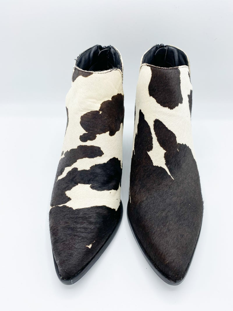 Not Your Classic Cowhide Bootie