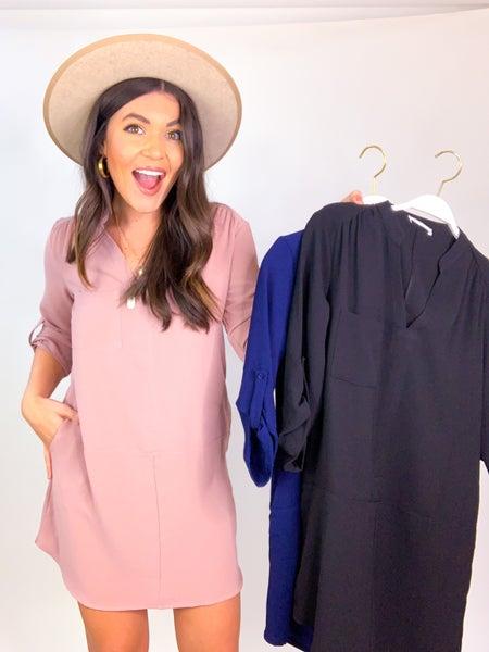 The Marisol Pocket Dress *Final Sale*