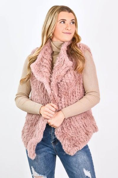 Fab And Frosty Faux Fur Vest *Final Sale*