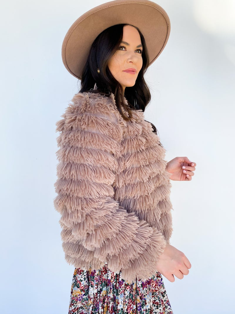The Holibabe Fur Jacket *Final Sale*