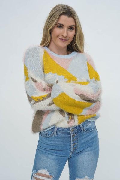 La La Land Pastel Sweater