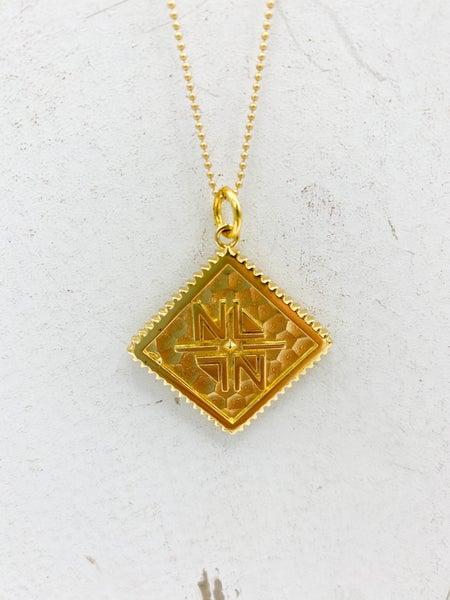 Nicole Leigh Diamond Long Necklace
