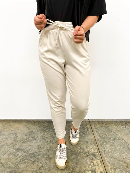 The Recover Drawstring Jogger - Light Beige