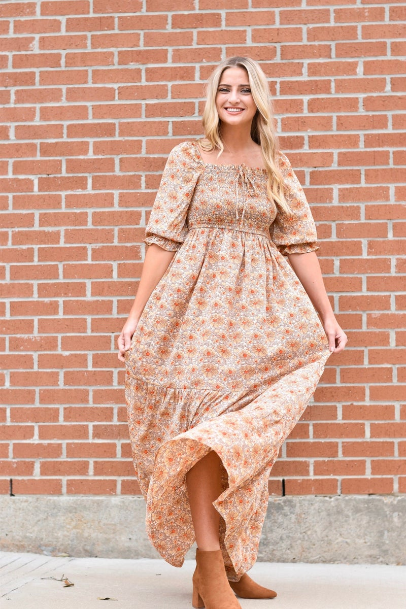 She's A Wildflower Maxi