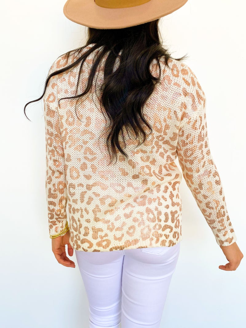 Rose The Cheetah Girl Sweater