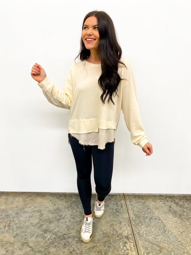 The Dressed Up Sweatshirt