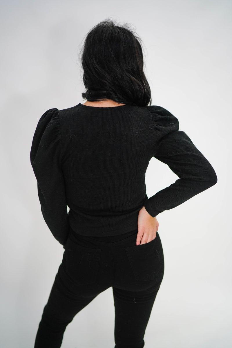 The Tiffany Puff Sleeve Top