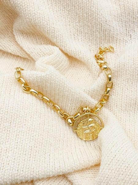 The Kiah Coin Bracelet