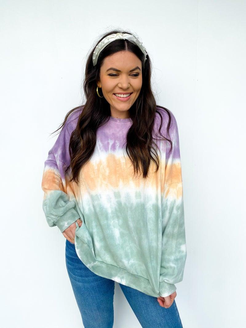 Good Times Tie Dye Sweatshirt